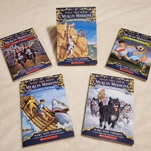 #22- 26 Magic Tree House Books